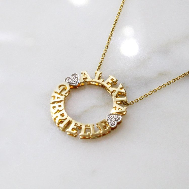 Name Necklace Product